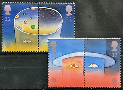 SG1560a & 1562a Europa in Space 1991, MNH