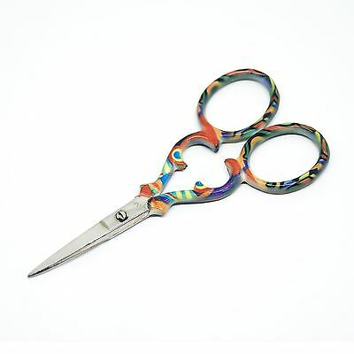 """Quality Stainless Steel Embroidery Scissors Straight 90mm - 3.5"""" inch - ESS-06"""