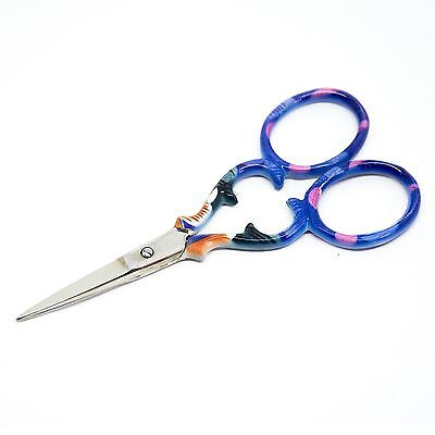 """Quality Stainless Steel Embroidery Scissors Straight 90mm - 3.5"""" inch - ESS-01"""