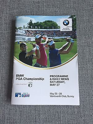 BMW PGA Championship Wentworth 2017 - Programme and Daily News