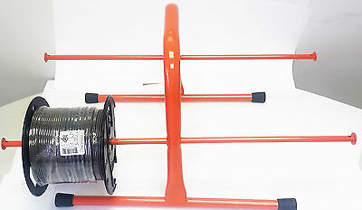 Wire Hand Caddy Spooled Wire storage holder cable NEW