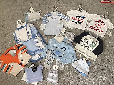 Baby Boys Newborn Bundle . All ** BNWT ** Excellent Gift / Clothes Outfits