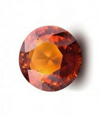 4.02Ct Natural Certified Ceylon Hessonite Garnet With No Treatment