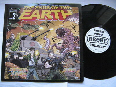 "Rare.THE ENDS OF THE EARTH Agent Alvin""Panelbeater""/AFFINITY""Exodus""2008Broke12"""