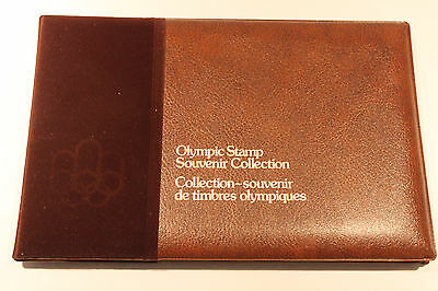 Vintage Canada Montreal 1976 Olympic Stamp Souvenir Collection Nib