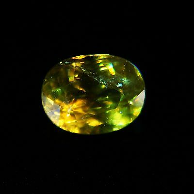 FASCINATING!!! 3.92 CT NATURAL COLOR CHANGE SPHENE LOOSE GEMSTONE (Sp-10)