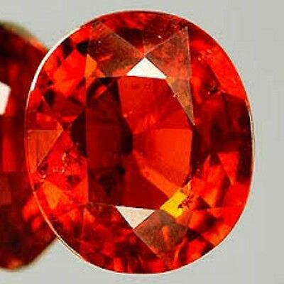 8.75 Ct Natural Certified Ceylon Hessonite Garnet With No Treatment