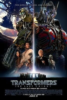 Transformers the last Knight Movie A1 plus 24x36 inches poster print version 13