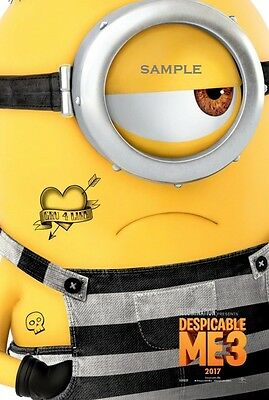 Despicable Me 3 Movie A1 plus 24x36 inches poster print version 9