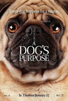 A Dogs Purpose Movie A1 plus 24x36 inches poster print version 2