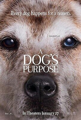 A Dogs Purpose Movie A1 plus 24x36 inches poster print version 5