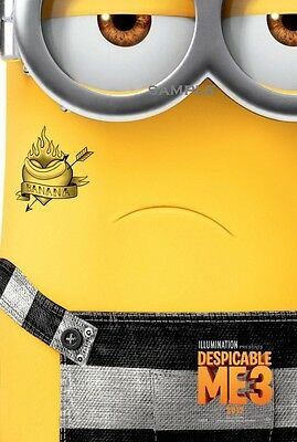 Despicable Me 3 Movie A1 plus 24x36 inches poster print version 11