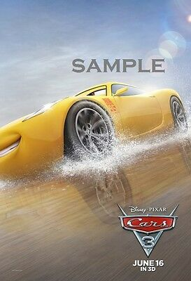 Disney Pixar Cars Movie Cruz Ramirez A1 plus 24x36 inches poster print