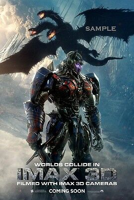 Transformers the last Knight Movie A1 plus 24x36 inches poster print version 12