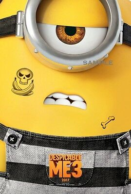 Despicable Me 3 Movie A1 plus 24x36 inches poster print version 8