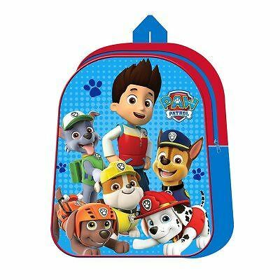 Paw Patrol Kids Childrens School Lunch PE Homework Rucksack Backpack Bag