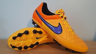 Nike Tiempo Leather Ag-R Football Boots Size 7