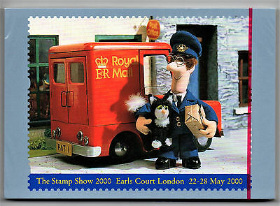 PACK of GB 2000 Postman Pat D17 PHQ Postcards. Sealed Pack of 20 cards Mint