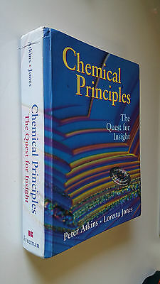 Principi di chimica, Chemical Principles - Atkins & Jones