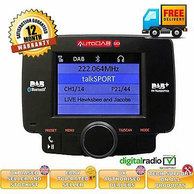AutoDAB-GO In Car DAB Digtal radio Add on universal Bluetooth handsfree car kitA
