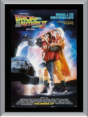 Back To The Future 2 Movie A1 To A4 Size Poster Prints