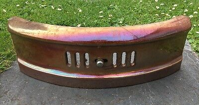 ORIGINAL VINTAGE 1930s ART DECO DAUNTLESS CAST IRON FIRE FRONT / GRILL - 16
