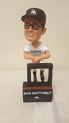 Don Mattingly Miami Marlins 2017 Bobble Head Doll SGA NEW FAST SHIP NOW !