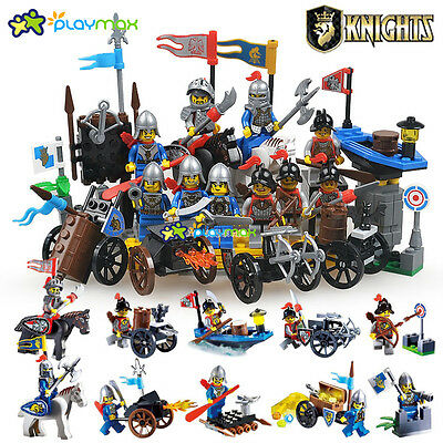 Lot of 10 sets Castle Knights Series  building  block toys new in bags(1001-1010