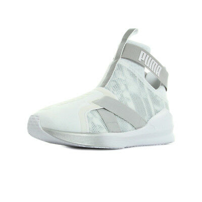 Chaussures Baskets Puma femme Fierce Strap Swan taille Blanc Blanche Textile A
