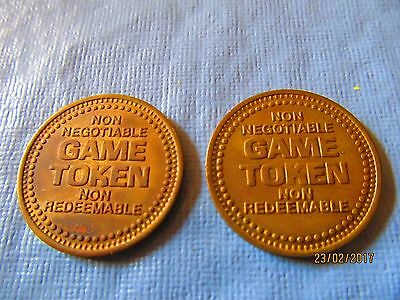 2 Games People Play Tokens