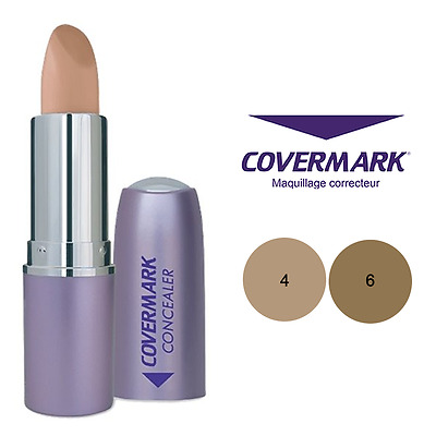 Covermark Correttore #4 #6 Concealer Waterproof Camouflage Tattoo 24 Ore Spf30