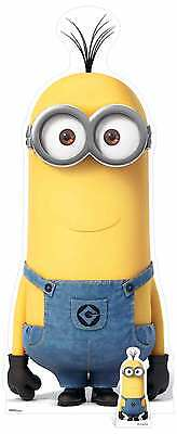 Kevin Minion Despicable Me 3 with Mini Cardboard Cutout / Standee / Stand up