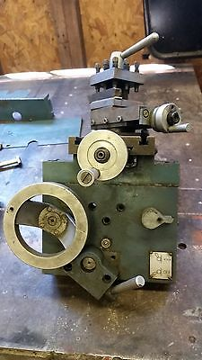 Enco Emco Lathe Cross Feed Assembly With Tool Holder And Misc Parts