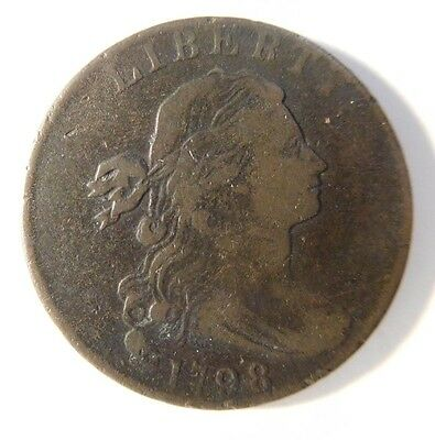 1798 Draped Bust Cent S-184 R-1