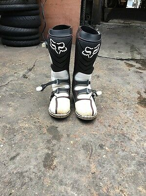 Fox Motorcross Boots Size 7