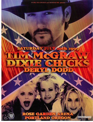 OFFICIAL REX RAY COLLECTION STORE - Rex Ray - TIM MCGRAW - DIXIE CHICKS POSTER