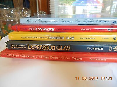 Books Research Antiques & Collectibles Depression Glass