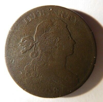 1798 Draped Bust Cent S-181 R-3