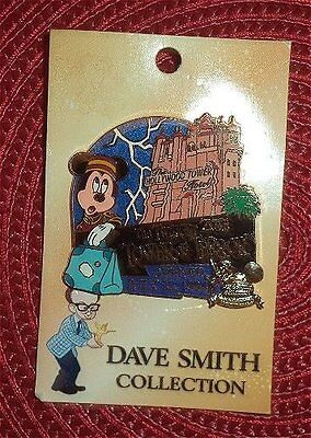 LE RARE Disney pin Dave Smith Collection Twilight Zone Tower of Terror Mickey