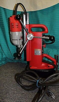Milwaukee 4203 Electromagnetic Drill Press & 4253-1 Drill Motor