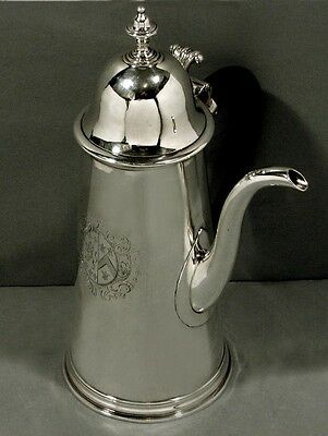 English Sterling Coffee Pot  1705      95.8% PURE       WAS $6400 - $4900