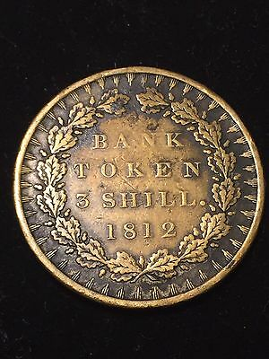 Bank Of England Three Shillings George III Forgery