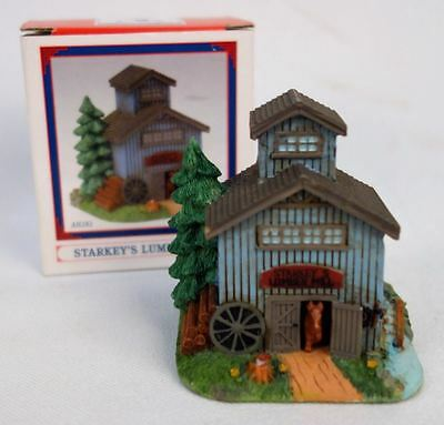 Liberty Falls Starkey's Lumber Mill 2003 Collection