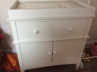 Marks And Spencer Nursery/baby Hastings Changing Unit Cupboard