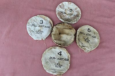 WWI Imperial Russian Army SHELL POWDER PACKAGES,EMPTY,MARKED,RARE!!!