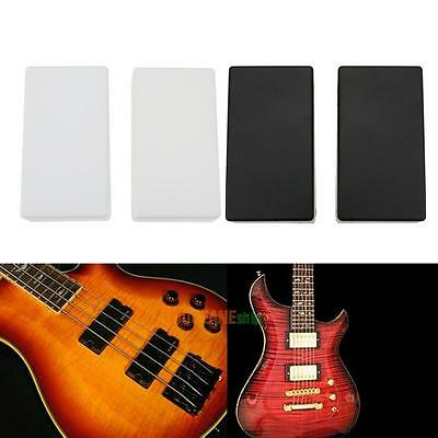 2Pcs Double Coil Humbucker Pickup Cover Case for Electric Guitar with No Holes