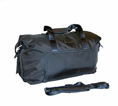 """TUMI Alpha 2 Double Expansion 19"""" Travel Satchel Carry-On / Gym Weekender 22159"""