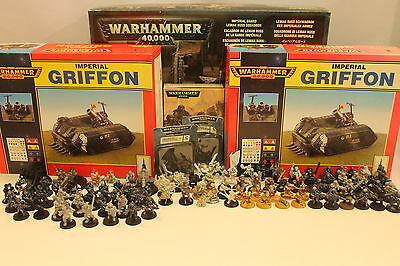 Warhammer 40K 40000 Astra Militarum Imperial Guard Cadian Army Lot