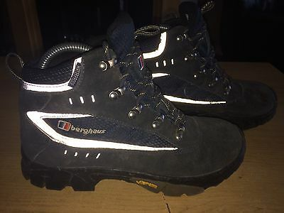 Berghaus Hiking Boots UK2 Waterproof Vibram Walking Terrain Shoes