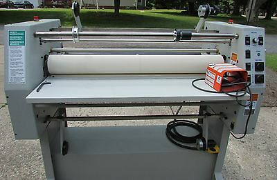 Laminator  36 Inch Hot And Cold Gbc Falcon  Pro-Tec,  Made In The Usa